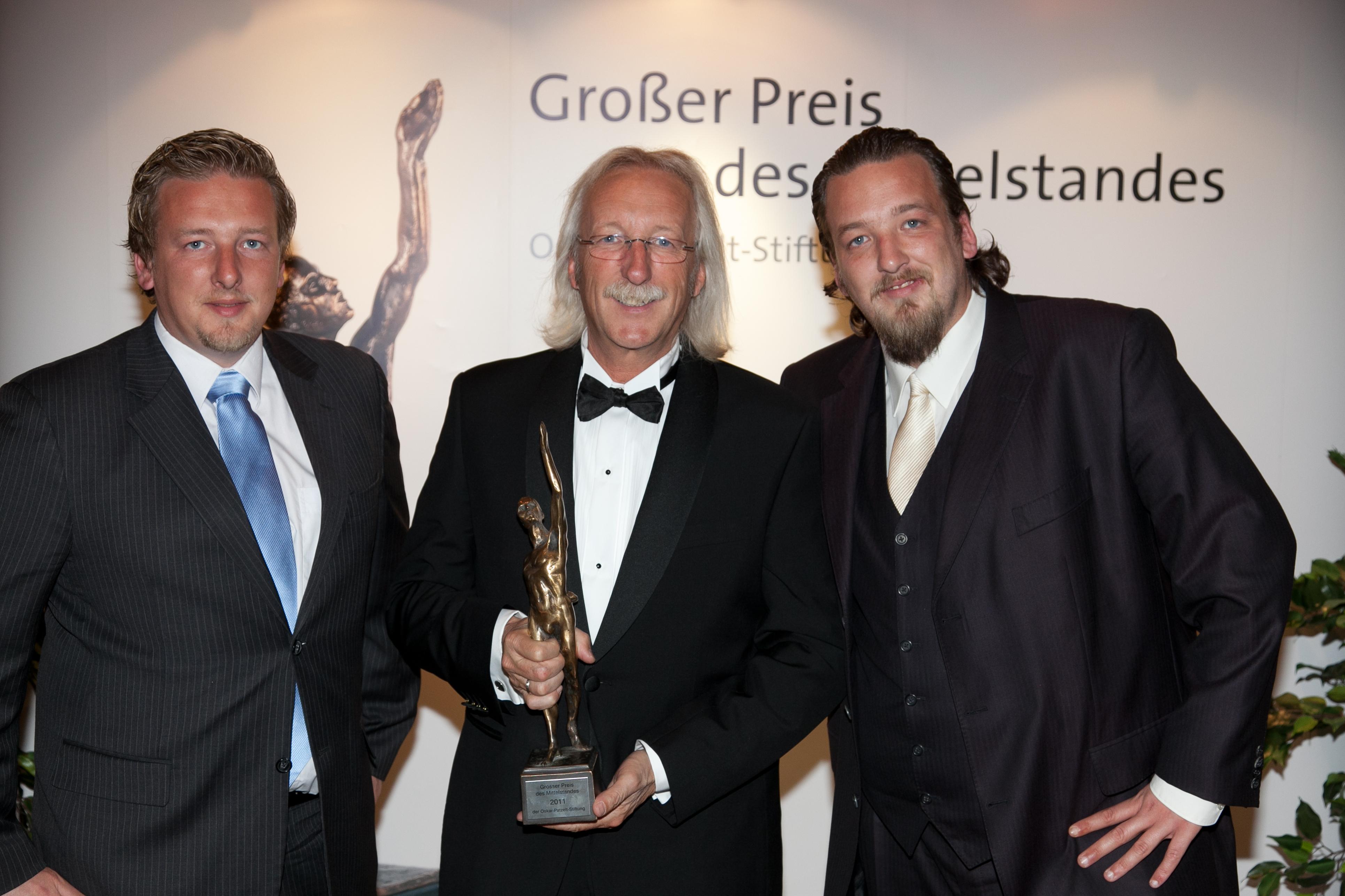 D sseldorf 2011 mittelstandspreis for Koch bedachungen
